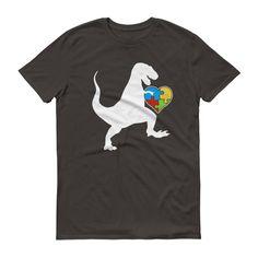 Autism Au-saurus rex - Autism Shirt