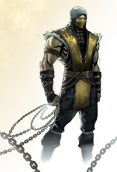 """Mortal Kombat 9 this is the best game ever. Mortal Kombat""""game, can't wait for the new one in april ugh yes. Mortal Kombat X Scorpion, Escorpion Mortal Kombat, Video Game Art, Video Games, Arte Nerd, Chuck Norris, Fighting Games, Game Character, Character Design"""