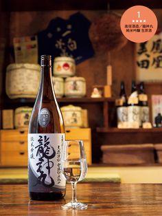 高垣酒造/龍神丸 純米吟醸 生原酒