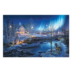 All is Bright a 1000Piece Jigsaw Puzzle by Sunsout Inc *** Check out this great product.