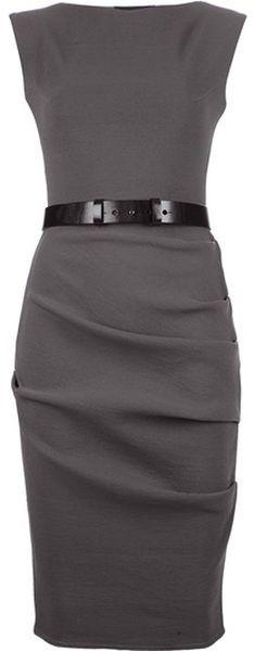 sleek, professional sheath dress Womens Love | Big Fashion Show sheath dress