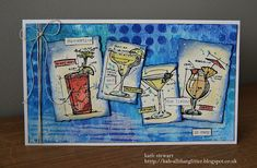 Kath's Blog......diary of the everyday life of a crafter: Stamper Anonymous Mini Blueprints 10 - A Cocktail or Two