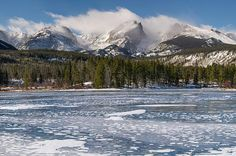 Sprague Lake in Winter - Fine art prints by Aaron Spong #rmnp #rockymountainnationalpark