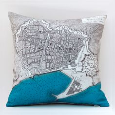 Beautiful Barcelona cushion.
