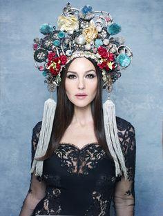 Fashiontography: Monica Bellucci by Rankin   Belladonna