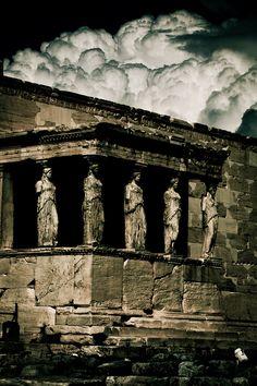 Porch Of The Caryatids - Athens, Greece.