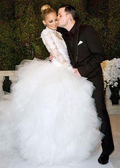 Nicole Richie + Joel Madden #celebrity #wedding