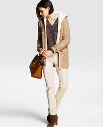 Chaqueta de punto de mujer Easy Wear con capucha