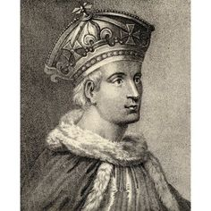 King Henry The Sixth Of England Founder Of Eton College And Kings College Cambridge From Memoirs Of Eminent Etonians By Sir Edward Creasy Published London 1876 Canvas Art - Ken Welsh Design Pics (13