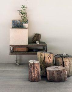 Nordisch inspirierte Badefliesen in Holzoptik für Wand: Wooden Tile