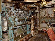 Costa Concordia Engine Room