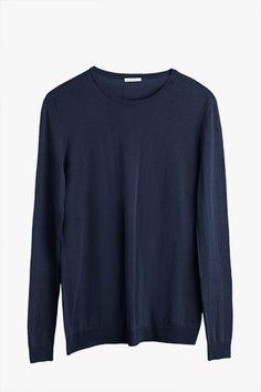 Cotton Cashmere Crewneck Sweater | Cuyana