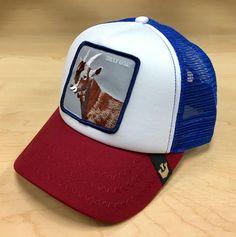 Goorin Bros Hickory Stick Goat Trucker Hat