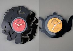 Unique Wall Clock designed by Pavel Sidorenko