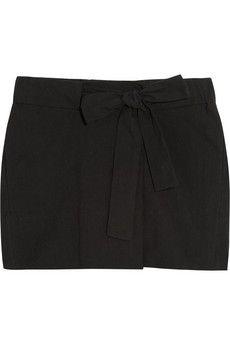 Étoile Isabel Marant Izia woven cotton mini skirt | NET-A-PORTER