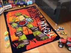 Age Mutant Ninja Turtles Rug