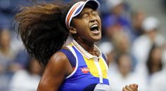 Japanese teen Naomi Osaka first conquered her shaky nerves and then crushed defending champion Angelique Kerber Tuesday to reach the second round of the US Open. Osaka, Champs, Us Open Final, Big Drama, Angelique Kerber, Coach Of The Year, Tennis Players Female, Tennis Stars, Cute Japanese