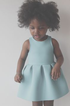 Ladylike girls dress pattern w/ a fit and flare silhouette OH MY GOD! The absolute cutest dress pattern! Little Girl Dresses, Girls Dresses, Flower Girl Dresses, Childrens Sewing Patterns, Sewing For Kids, Toddler Dress, Baby Dress, Denim Look, Mode Inspiration