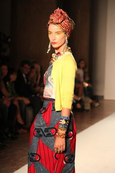 Stella Jean, modelli occidentali, tessuti Africa