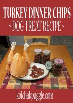Turkey Dinner Chips Dehydrator Dog Treat Recipe