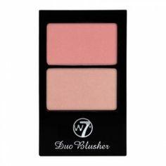 W7 Duo Blusher, No.01 W7 Cosmetics, Blusher, Make Up, Beauty, Accessories, Makeup, Beauty Makeup, Beauty Illustration, Bronzer Makeup