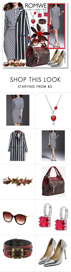 """""""www.romwe.com-XXIV-8"""" by ane-twist ❤ liked on Polyvore featuring Nearly Natural and romwe"""