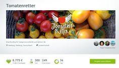 amberlight-label: Spenden: Paperblooms & Tomatenretter