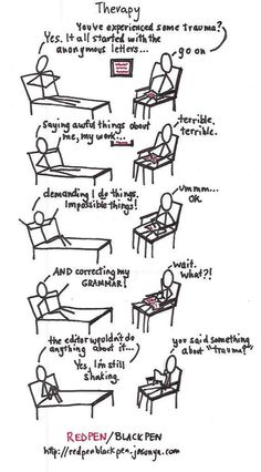 Therapy For Writers - Writers Write Creative Blog