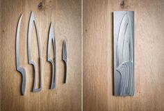 Very nice knife set. 4 in 1.