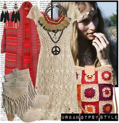 """""""Urban Gypsy Style"""" by karineminzonwilson ❤ liked on Polyvore"""