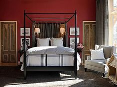 Ditch the Neutrals and Go Bold with Your Bedroom Wall Color