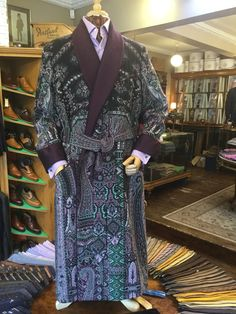 A beautiful hand made gown with a pure silk lining and hand quilted silk  lapels by Daniel Hanson for Rhodes-Wood in Harrogate. 73f6b3a60