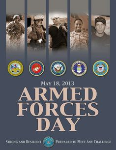 Armed Forces Day, May 18, 2013
