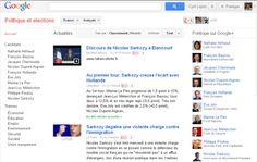 Un portail Google pour suivre les élections 2012