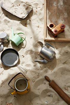 Sandpit play tools