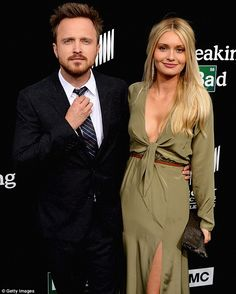 Aaron Paul got married in May and was joined by new wife Lauren Parsekian