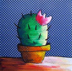 #cactus #art of Elena Mirandola