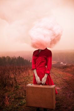 Alicia Savage's Surreal Self Portraits | You, Me & Charlie