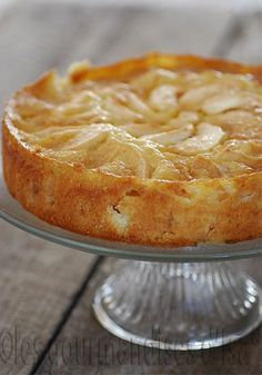 Les gourmandises d'Isa: GÂTEAU AUX POMMES À LA NORMANDE Beignets, Flan, 20 Minutes, French Desserts, French Food, Sweet Recipes, Cake Recipes, Dessert Recipes, Les Gourmandises D Isa