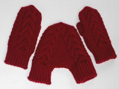 Zach would never go for this hahahaha. Red mittens knitted smitten mittens for him and her cabled gloves for lovers wedding gift for couples on Etsy, $58.00