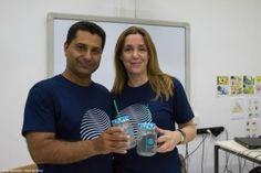 Σίκινος: Διανεμήθηκαν δωρεάν 25.000 βιοδιασπώμενα καλαμάκια (φωτο)