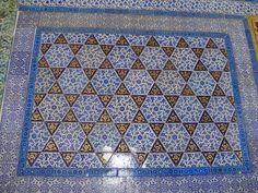 Floor tiles, Topkapi Palace, Istanbul
