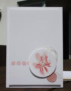 Danielas Stempelwelt: Zarte Blüte