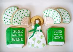 Gone With the Wind Cookies Scarlett