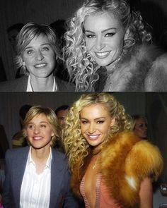 #TBT to December 1, 2004 when Ellen and Portia first got together  #ellendegeneres #portiaderossi #throwbackthursday