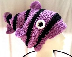 crochet fish hat,crochet slouch hat,hats for girls,womens accessories,gifts for her,teen clothing,slouchy hat crochet,handmade gifts,hats