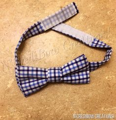A personal favorite from my Etsy shop https://www.etsy.com/listing/510718578/plaid-bow-tie-toddler-bow-tie-blue-bow