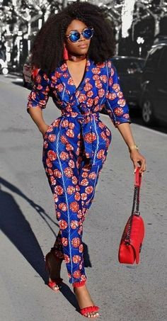 Classic and specially designed african print ankara jumpsuit styles and designs African Dresses For Women, African Print Dresses, African Attire, African Wear, African Fashion Dresses, African Women, African Prints, Ankara Fashion, African Style