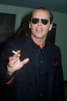 Jack Nicholson Wears Sunglasses All the Time