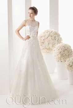 f6301c56391a3 İşlemeli Gelinlik Modeli @duguncom Wedding Dresses 2014, Düğün Kıyafetleri,  Damatlar, Kolyeler,